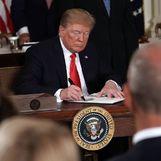 Военно-космические силы: план президента Трампа становится реальностью.