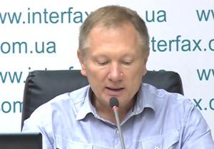 Виступ О.Левцуна на прес-конференції