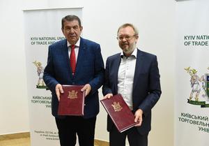 Підписання меморандуму про співпрацю з КНТЕУ.